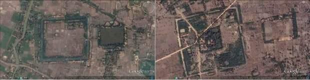 Древние гигантские карьеры Камбоджи