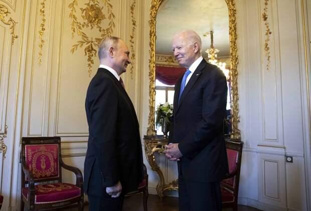 Байден опасается введения санкций против Путина и его окружения