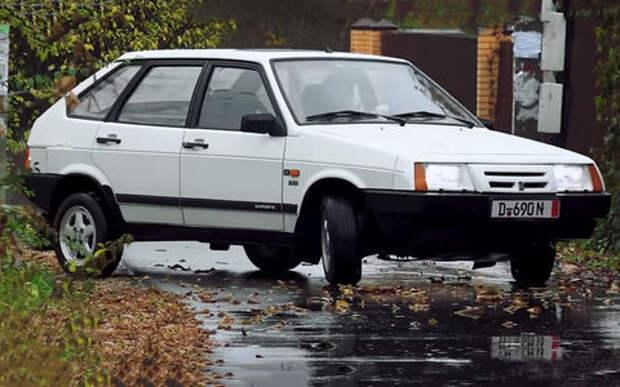 Та самая реэкспортная Lada Samara: тест машины-мечты из 90-х