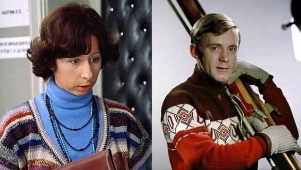 Лия Ахеджакова и Валерий Носик СССР, знаменитости, кино, супружеские пары, факты