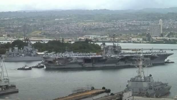«По одному центу за авианосец»: В США продали USS Kitty Hawk и USS John F. Kennedy частной фирме