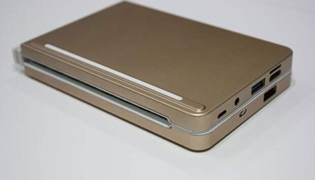 Windows-компьютер Pipo KB2 выполнен в виде складной клавиатуры