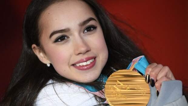 Загитова вспомнила о победе на Играх и поздравила мужчин с 23 февраля