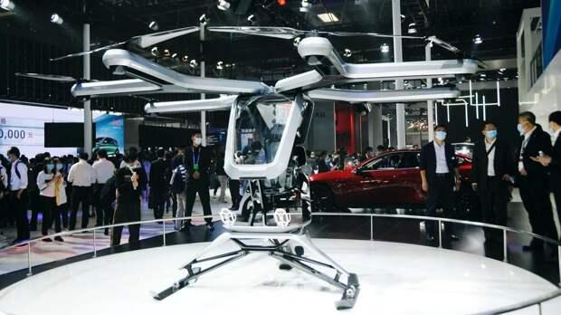 Компания Xpeng Motors выпустит летающий автомобиль до конца 2021 года