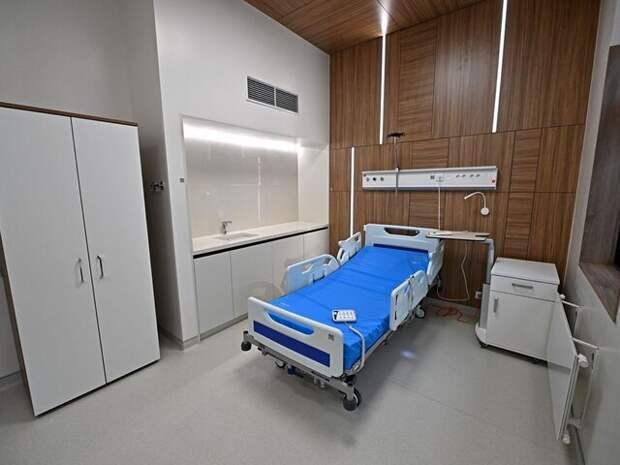 Бочкарев: завершены монолитные работы в лечебном комплексе МКНЦ имени Логинова