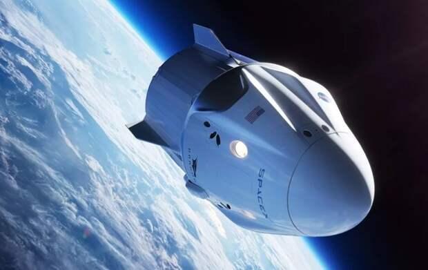 «Роскосмос» рассказал о планах доставки космонавтов к МКС на кораблях Маска