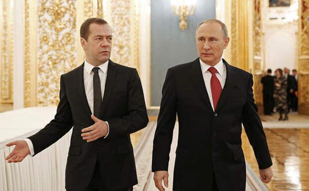 Путин предложил Медведеву новую работу