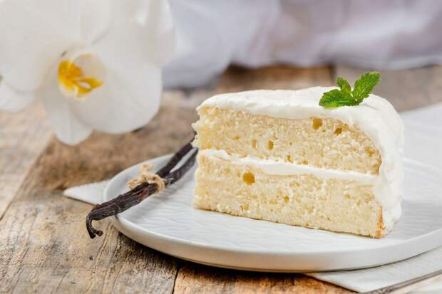 Как приготовить ванильный торт ?