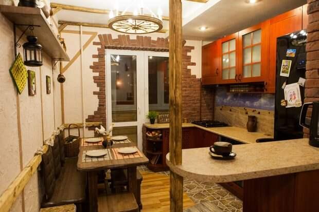 Кухня: душевная корчма в типовой панельке