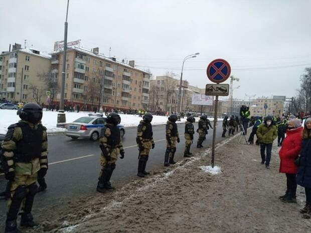 Участнику акции в Москве, распылившему газ в лицо росгвардейцу, дали 3,5 года колонии