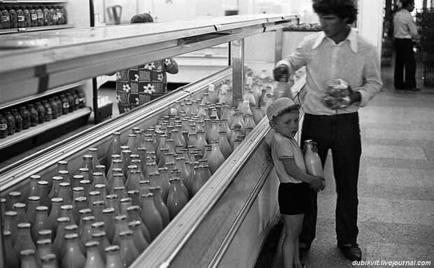 По волнам нашей памяти: Молоко и молочные продукты СССР