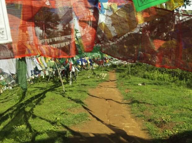 Буддийские молитвенные флажки