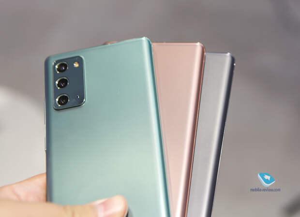 Десять причин купить Samsung Galaxy Note20