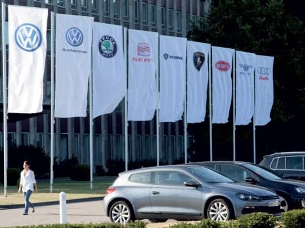 Группа Volkswagen показывает рекордные прибыль и продажи