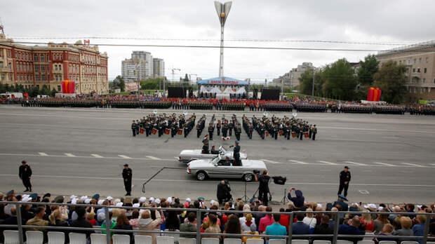 Крупнейший военный оркестр выступит напараде Победы вРостове