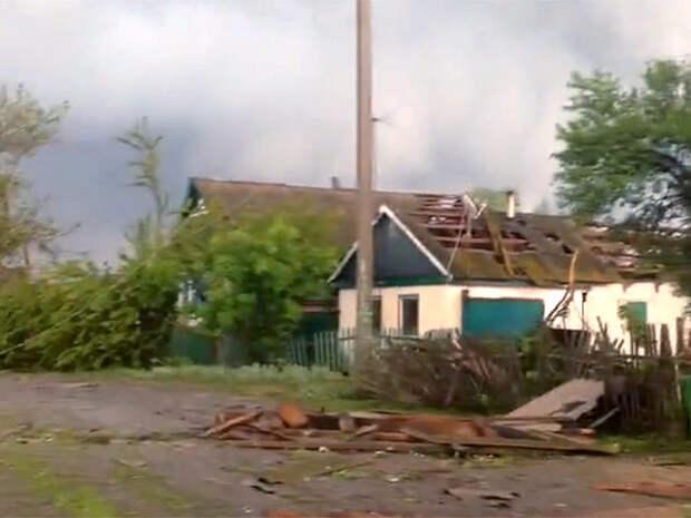 В Ростовской области смерчи срывали крыши и уносили коров