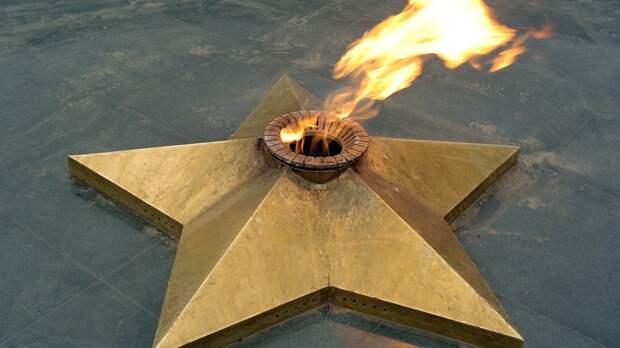 Вандалы осквернили мемориал ветеранам ВОВ под Астраханью