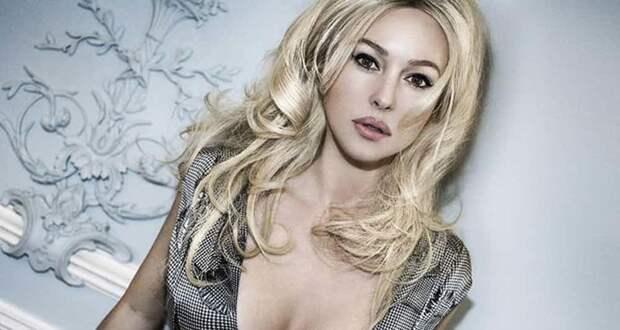 """В образе блондинки. Светловолосой актриса была в фильме """"Второе дыхание"""" 2007-ого. актриса, знаменитости, кинодива, красота, моника беллуччи, самая сексуальная женщина, секс-символы, фото"""