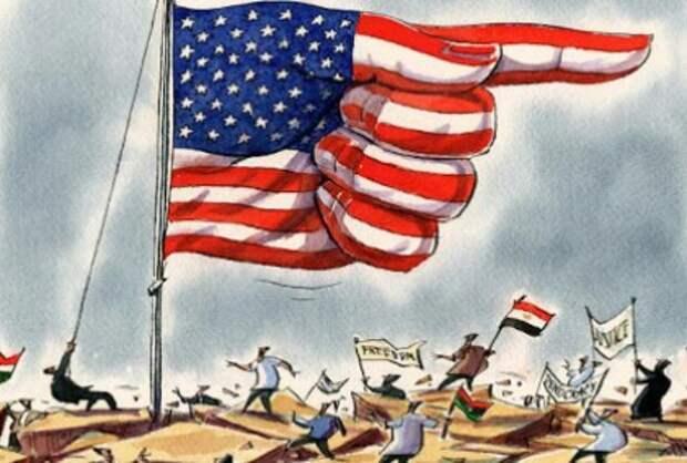 США – причина нестабильности во всем мире
