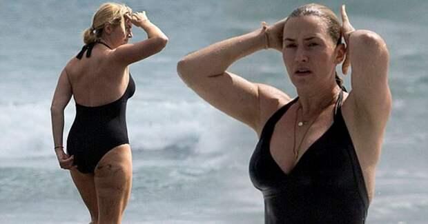 6 полных знаменитостей в купальниках, которые ни капли не стесняются своей фигуры