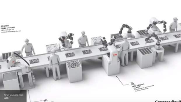 ABB откроет фабрику, на которой роботы будут делать роботов