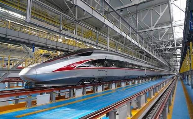 В Китае появилась новая высокоскоростная железная дорога