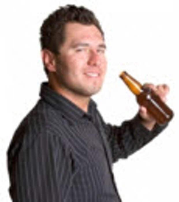 пиво не влияет на возраст - ничего себе)