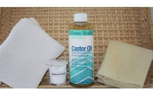 Комбинация касторового масла и соды может решить более чем 20 проблем со здоровьем!