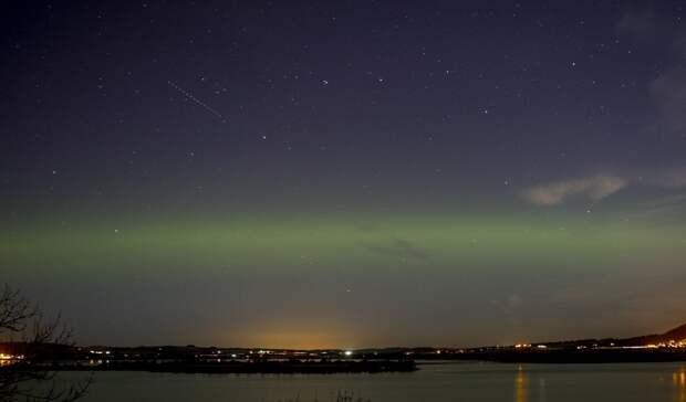 Озеро Лох-Ливен, Кинроссшир, Шотландия великобритания, корональная дыра, красивые фотографии, небо, природное явление, северное сияние, шотландия
