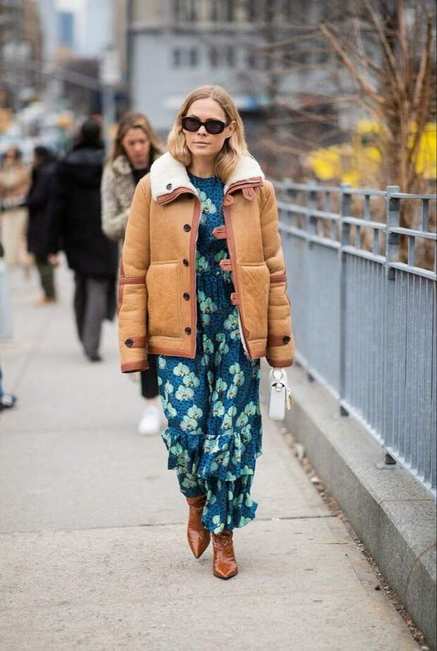 10 топовых идей, как правильно носить платье с верхней одеждой