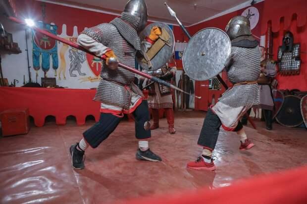 К 800-летию со дня рождения Александра Невского в Твери прошли копейные состязания