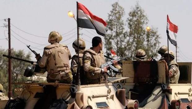 Египетский спецназ погорячим следам уничтожил террористов, казнивших коптов