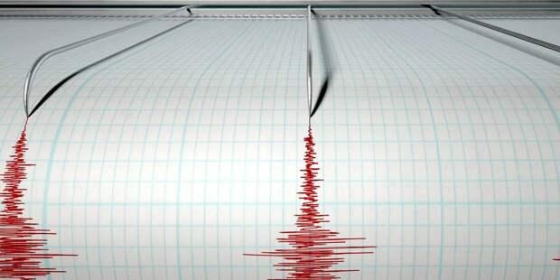 У побережья Камчатки случилось землетрясение
