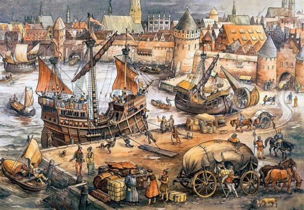 Ганзейский проект Средневековья: как селедка не позволила создать первый Евросоюз…