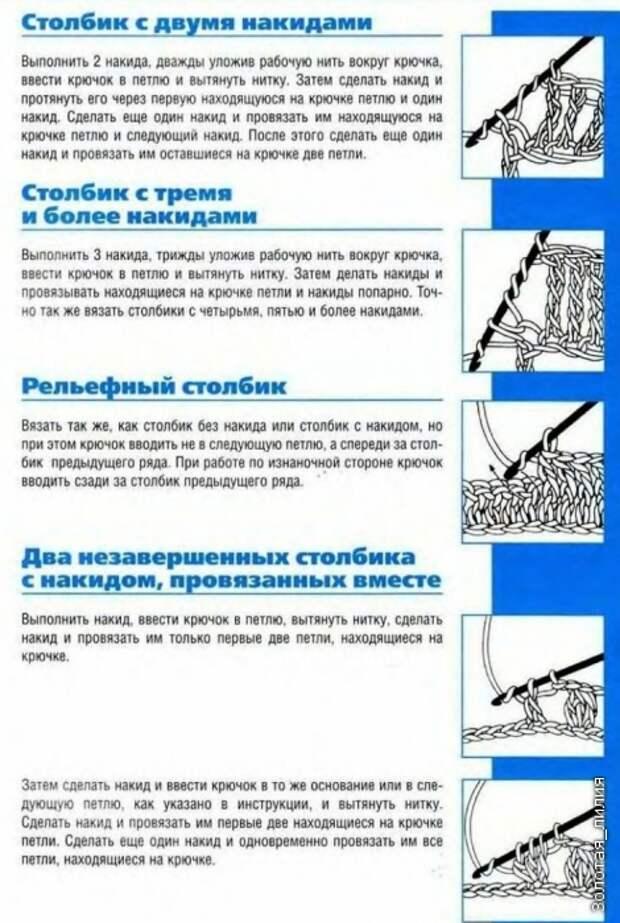 Учебный курс по вязанию крючком для начинающих