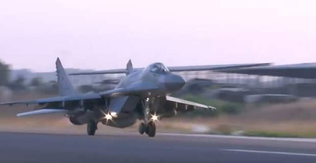 МиГ-29СМТ пройдет испытание Сирией