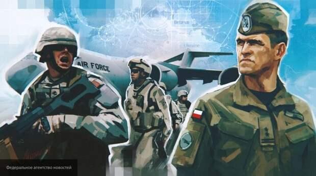 Европа сидит на пороховой бочке: США подставили Польшу и Прибалтику под удар России