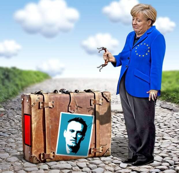 Немцам очень не хочется платить за газ американцам вместо русских
