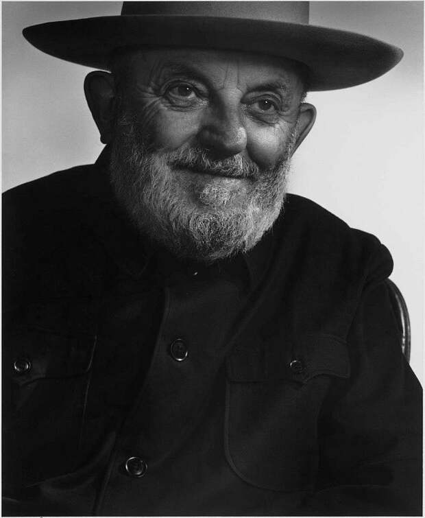 Ansel Adams by Yousuf Karsh