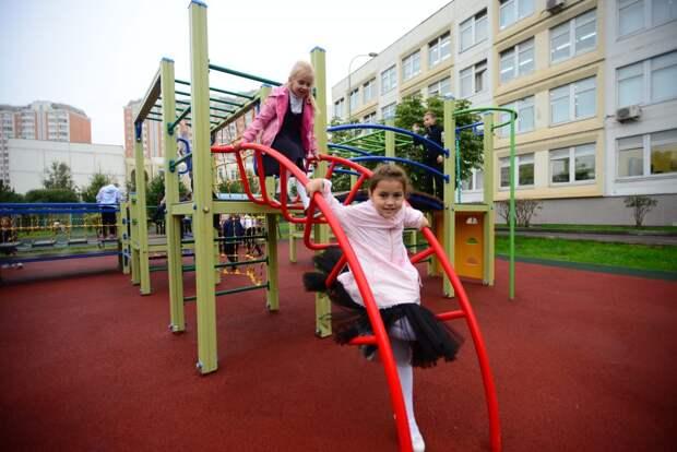 У школы на улице Свободы обновят спортивные площадки