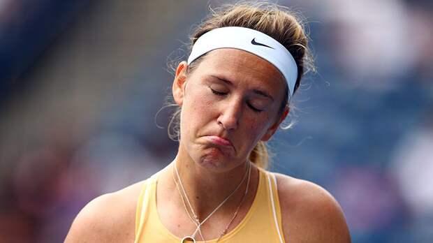 Азаренко снялась с турнира в Мадриде из-за травмы