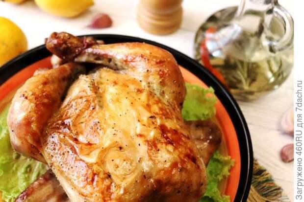 Запеченная курица по-калабрийски (с уксусом)
