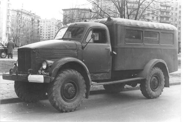 ПАЗ-653 на шасси ГАЗ-63 (0)