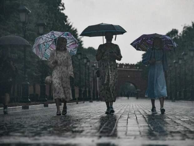 Гидрометцентр пообещал затяжные дожди в центре России