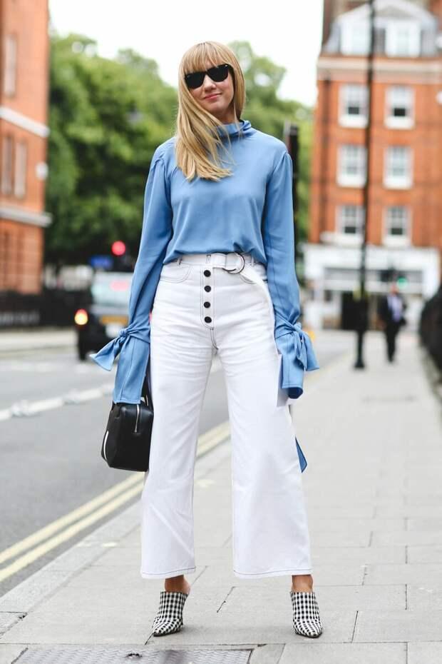 С чем носить джинсы? Классические синие, а также любые цветные