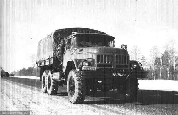ЗИЛ-131: рабочая лошадка Советской Армии