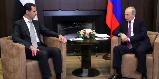Путин оценил товарооборот с Сирией