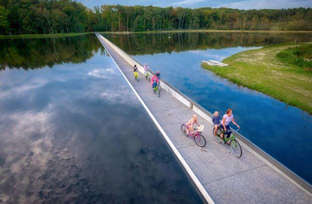 Где находятся самые необычные велодорожки мира