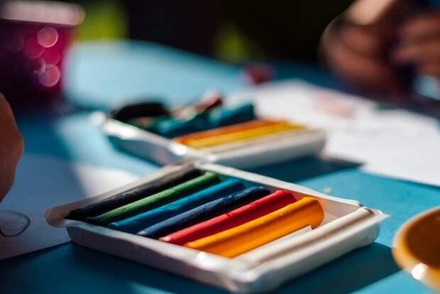 Юные жители Алтуфьева на онлайн-уроке смастерят аппликацию из пластилина