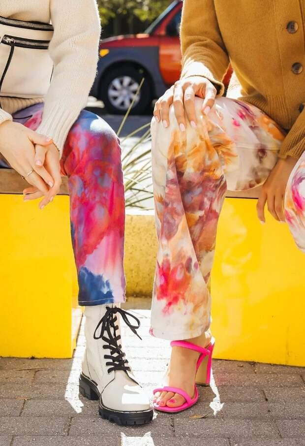 Интересный и креативный способ преобразить джинсы